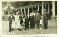 S rodinou v Luhačovicích