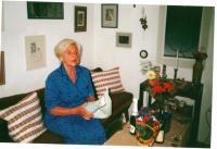 Eva Bošková při oslavách jejich 60. narozenin v roce 1999