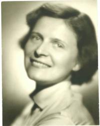 Eva Bošková v roce 1954