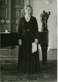 Eva Bošková na koncertě v roce 1983
