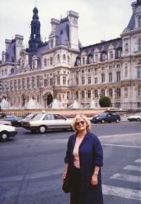 Eva Bošková (Paříž, červen 1993)
