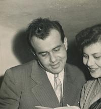 Eva Bošková po premiéře Společenské poradny (1978)