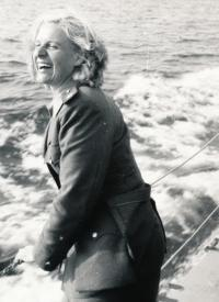V Polsku na lodi (1957)