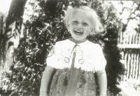Lenka Haráková, rok 1947 nebo 1948