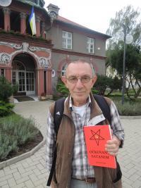 Jaroslav Haidler se svou knihou