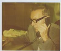 Jaroslav Haidler v redakci Průboje
