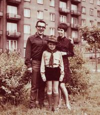 Jaroslav Haidler s rodinou