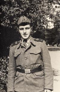 Jaroslav Haidler na vojně