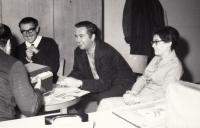 Jaroslav Haidler s přáteli