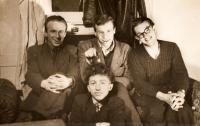 Jaroslav Haidler - fotografie s přáteli