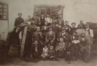 Zaměstnanci pivovaru v Mirohošti