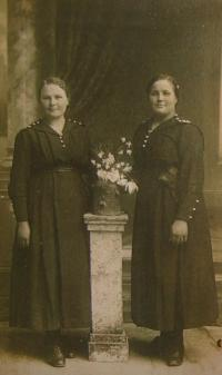 Sestra a maminka Jiřiny Kulichové