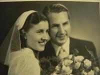 Svatební fotografie Vlasty Černé