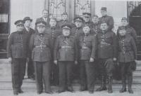 Otec Arnošt Zweigenthal během mobilizace v září 1938
