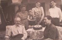 Ludvík family in Úsov