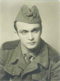 Mladý voják