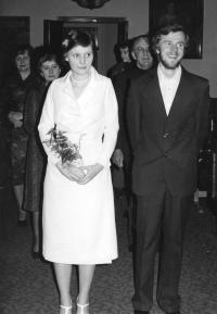 3.Leden 1978-svatba