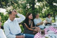 At friends in Bezno near of Mladá Boleslav