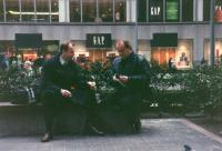 x10.Na dovolené v USA společně s Michaelem Kocábem – New York - 1996