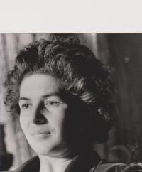 Olga Bojarová in 1957