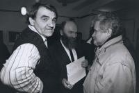 S Ivanem Dejmalem a Petrem Pithartem - 1991-92