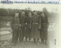 Farářská rota na Slovensku (Trojan, Vinklárek, Frei, Janovský)