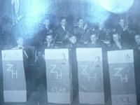 orchestr kláštera kalasantinů - Kladno, 1941?