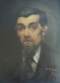 portrét Václava Hojera od Jaromíra Seidla, 1928