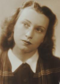 Jiřina, první manželka, 1947