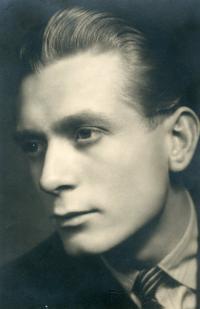 Dobový portrét pamětníka