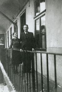 Mum and Dad before their wedding in Košice (just before the outbreak of the war).