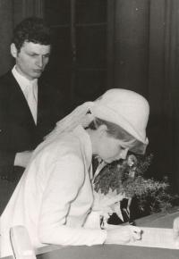 Me marrying Irena (1968).