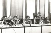 Post-November leadership of Public Against Violence (1990).
