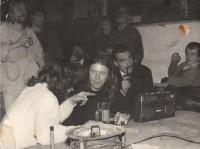 Jiří Chmel s Karlem Schwanzenbergem v Nachtasylu