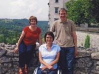 Denise se svými německými přáteli Geraldem a Brigitte, 2009