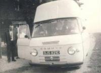 Babička, Truda a Bob, poprvé dodávkou do Československa, 1966