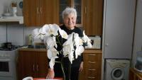 Anna Tesařová ve své kuchyni