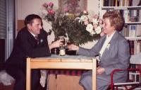 J. Tesař a A. Tesařová - svatba - 1986