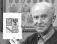 Jiří Louda se podílel na tvorbě českého státního znaku