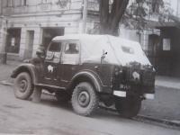 Polská vojska na dnešní ulici 17. listopadu v Šumperku během vpádu vojsk Varšavské smlouvy