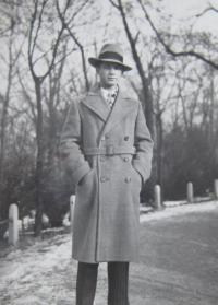 Otec Ladislav Prokeš v Dušné