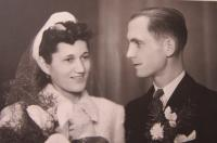 Wedding parent October 26, 1940