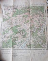 Map of the allegedly moved to Vsetin Soviet troops