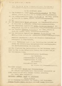 Rosudek smrti nad Hájkem 1945 prvni strana