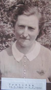 Matka Františka Venclíková