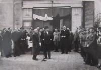 Návštěva Jana Masaryka v roce 1948 v Tovačově