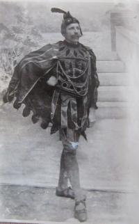 Otec Bohumil Venclík