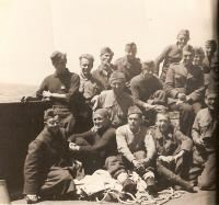 The Czechoslovak soldiers in England