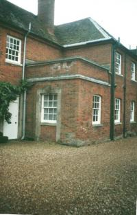 Chicheley Hall - the room where the paratroopers trained