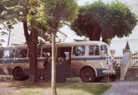 Někdy se objevil i autobus